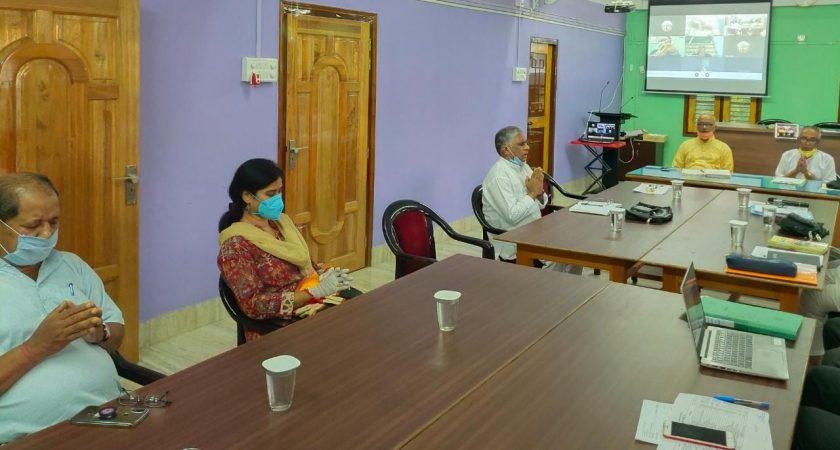पूर्वोत्तर जनजाति शिक्षा समिति की कार्यकारिणी बैठक सम्पन्न हुई ।